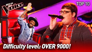 The HARDEST SONGS to sing on The Voice | Top 10