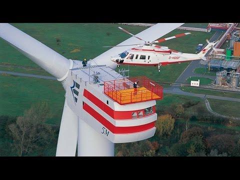 Výstavba najsilnejšej veternej turbíny