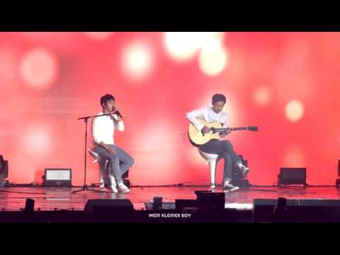 151010 EXO-Love concert - Boyfriend(acoustic ver.) D.O. with Chanyeol