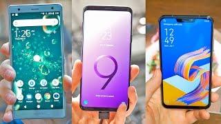 Los 3 MEJORES móviles del MWC 2018!