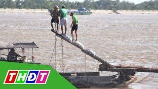 Độc đáo nghề đẩy dồn bắt cá | THDT