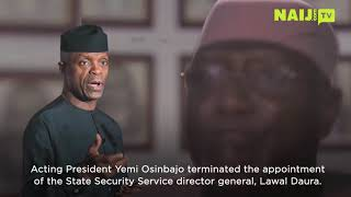 Nigeria Latest News: Why Yemi Osinbajo Terminated The Appointment Of Lawal Daura | Naij.co