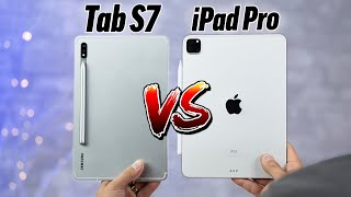 Galaxy Tab S7 vs 2020 iPad Pro - The BEST Tablet?!