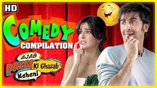 Ajab Prem Ki Gajab Kahani Comdey Scenes - Ranbir Kapoor - Katrina Kaif - Superhit Compilation