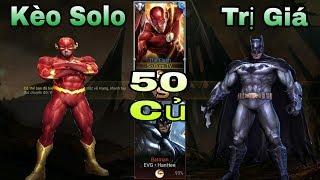 LIÊN QUÂN : Kèo Sô Lô Vô Cùng Khó Khăn Giữa The Flash Và Batman - DC Nào Mạnh Nhất ?