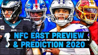 NFC East Preview And Prediction 2020 | Who Wins The NFC East In 2020 ? | NFL