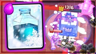 Clash Royale - FREEZE CHEESE! Favorite Ladder Deck