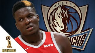 Dallas Mavericks To TRADE For Clint Capela?! Would He Be A Good Fit?
