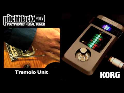 Korg: First look at the Pitchblack Poly Polyphonic Pedal Tuner