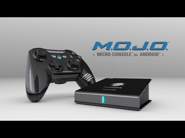 MAD CATZ MOBILE M.O.J.O. Micro-Console pour Android