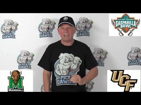 UCF vs Marshall 12/23/19 Free College Football Pick and Prediction: Gasparilla Bowl 2019