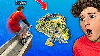Can You JUMP THE MAP With A BMX In GTA 5? (MODS)