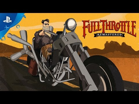 Full Throttle Remastered Trailer