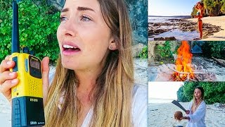 Girl Stranded on a Deserted Island!