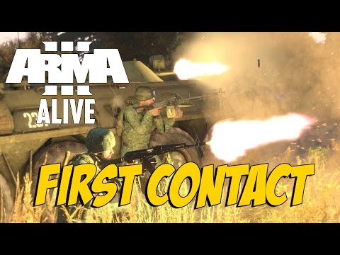 ARMA 3 ALIVE - First Contact