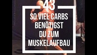 Built by Science #43 - So viel Kohlenhydrate benötigst du wirklich zum Muskelaufbau!