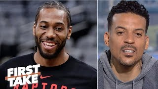 Kawhi is not as clutch as Kobe – Matt Barnes | First Take