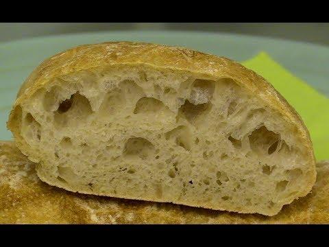 Ciabatta Brot. Schritt für Schritt mit Rezept.