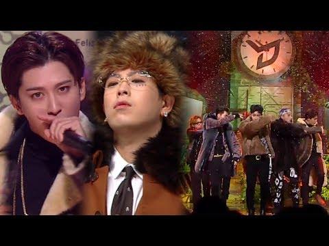 《Comeback Special》 Block B(블락비) - Shall We Dance @인기가요 Inkigayo 20171112