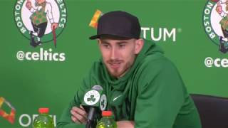[FULL] Gordon Hayward's first press conference since injury suffered in Celtics vs. Cavaliers | ESPN