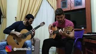 Hello-Adele/Fairouz كيفك إنت (Guitar Mashup)