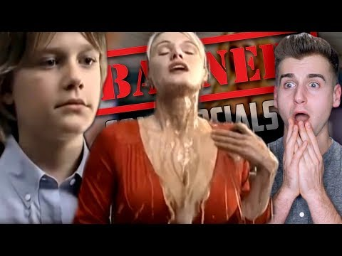 Reacting To Top BANNED Commercials Of All Time