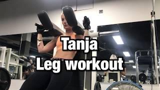GIRLS WHO LIFT ft TANJA's LEG WORKOUT