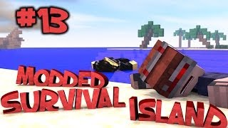 Survival Island Modded - Minecraft: INTO THE JUNGLE! Part 13