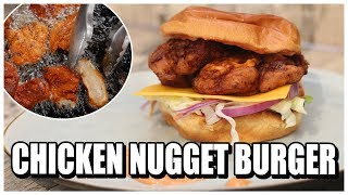 Chicken Nugget Burger | Chicken Nuggets selber machen