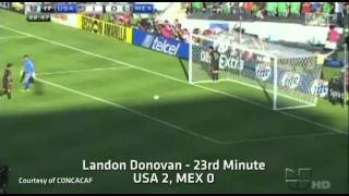 MNT vs. Mexico: Landon Donovan Goal - June 25, 2011