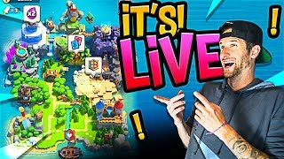 Clash Royale :: BEST UPDATE EVER! :: CLAN WARS LIVE!!