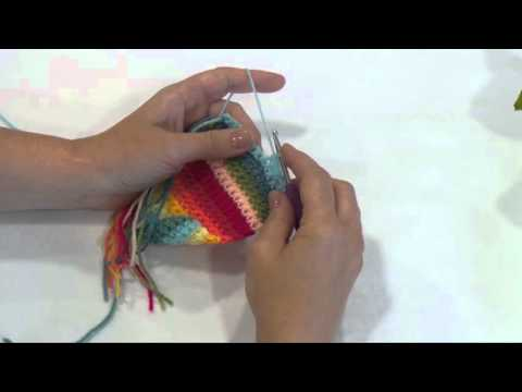 Crochet Bobble Stitch by Jane Crowfoot