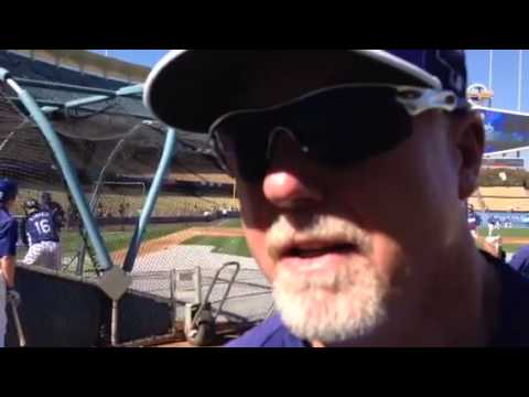 Mark McGwire's prediction for NLCS - YouTube