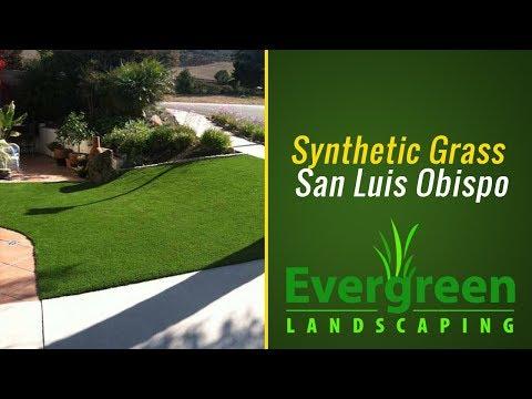 Low Maintenance Synthetic Turf San Luis Obispo County 805-773-5395