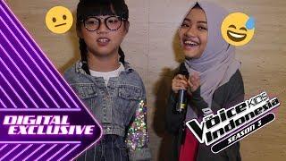 Ekspresi Kontestan Diajak Tebak-Tebakan Garing 😂 | VLOG #8 | The Voice Kids Indonesia S3 GTV 2018