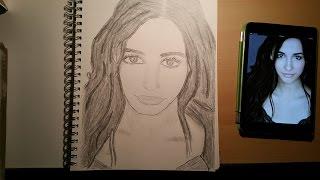 Kimberly/Pink Power Ranger - Naomi Scott | Time-lapse Drawing