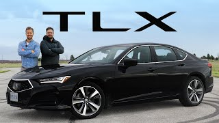 2021 Acura TLX Review // Don't Buy That Mercedes, Yet.