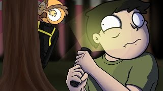 GMOD SLENDER OWL! - Garry's Mod Hide & Seek Funny Moments