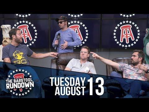 Alexandria Ocasio-Cortez vs. Dave Portnoy - August 13, 2019 - Barstool Rundown