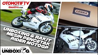 Unboxing Lenka Mini GP12 Langsung Test Ride di Sirkuit l First Ride Review l GridOto