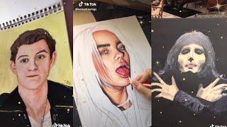 painting compilation /tiktok/
