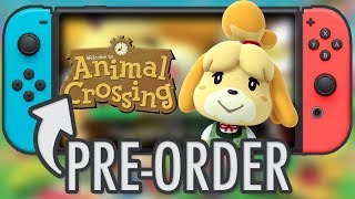 Animal Crossing Switch PRE-ORDER
