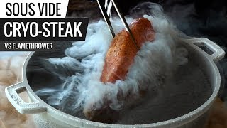Cryo-Fried Steak vs Flamethrower Steak! Best Sous Vide Sear - Series E6