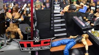 WWE ACTION FIGURE SETUP! TLC 2018 EDITION!