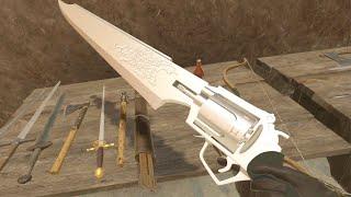 Blade and Sorcey VR - Final Fantasy VIII USING THE GUN BLADE