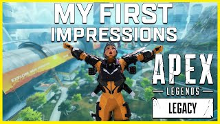 I Got to Play Apex Legends Legacy Early! Sharing My First Impressions and Thoughts