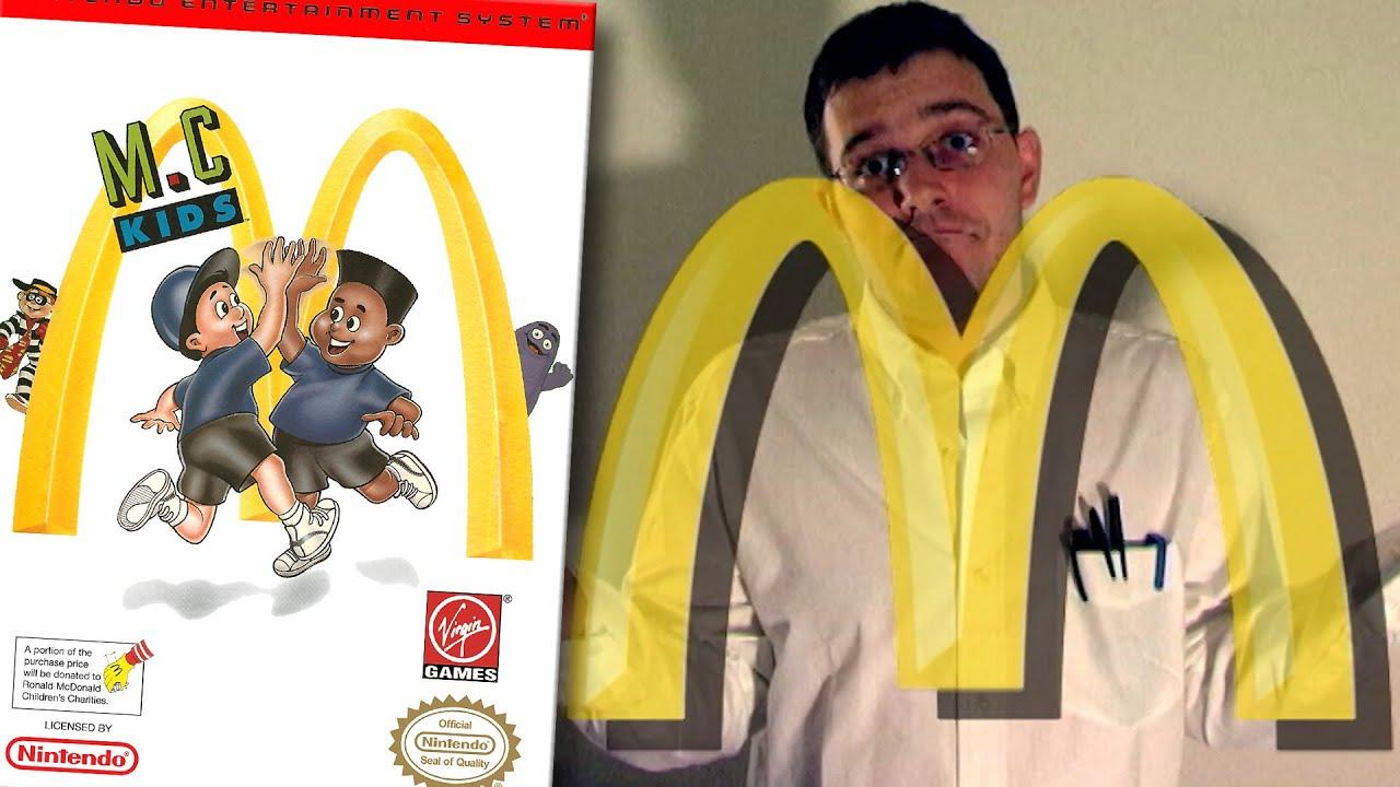 Angry video game nerd ronald mcdonald