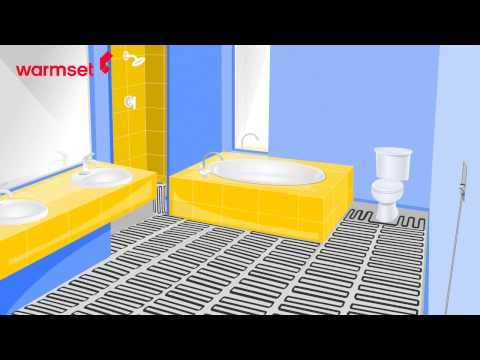 Warmset - floor heating system