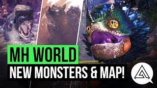 Monster Hunter World | NEW Monsters, Desert Map & More! 'Wildspire Waste' Trailer Breakdown