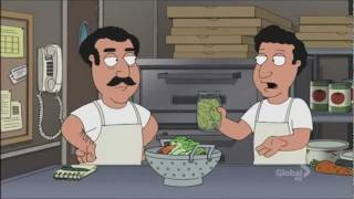 Family guy - Every Pizza Place